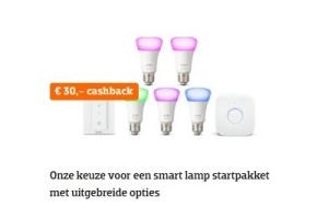 Philips hue cashback op starterkit