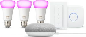 Philips Hue en Google Home bundel