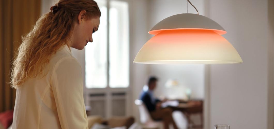De Philips Hue Beyond serie bestaat uit 3 lichtbronnen