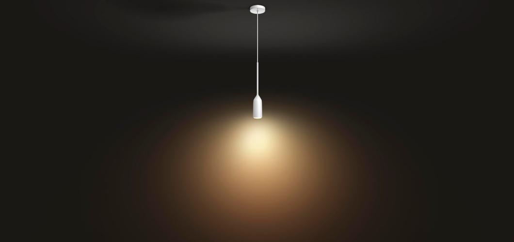 Hanglamp die je kant uitbreiden met meer Devote lichtbronnen