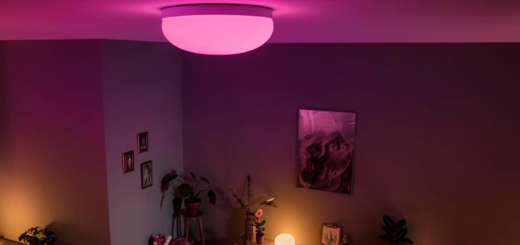 Hue florish productlijn bestaat uit 3 Philips Hue lampen
