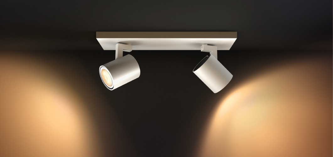 Philips Hue spotjes met white ambiance lampen