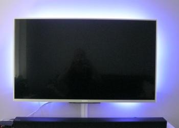 verlichting achter televisie
