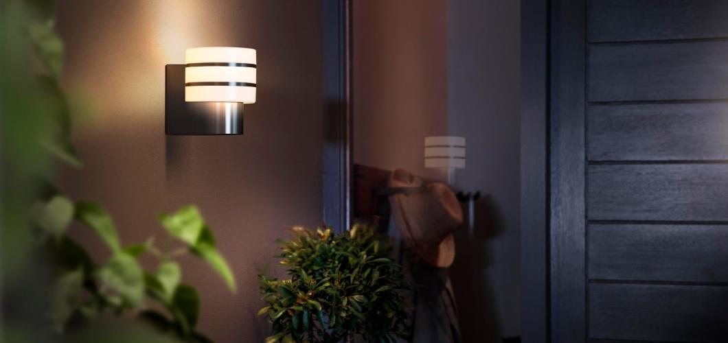 Tuar serie bestaat uit 3 philips Hue lampen